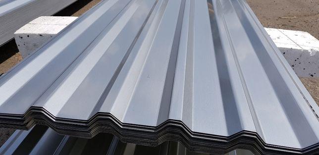 Blacha dachowa imitacja stali nierdzewnej inox