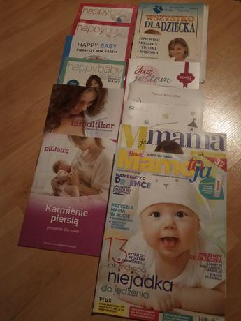 gazety o ciąży, karmieniu piersią