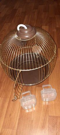 Продам совершенно новую небольшую клетку для птицы!