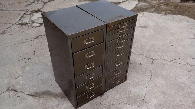 Metalowa szafka narzędziowa 6 szuflad