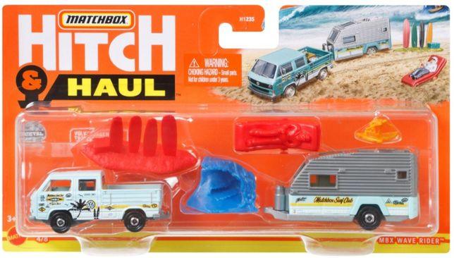 MATCHBOX Hitch & Haul- Volkswagen T3 z akcesoriami