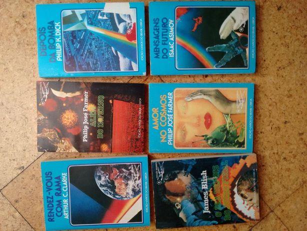 Livros Colecção Argonauta - Philip José Farmer, Asimov, PKDick, etc