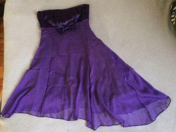 Sukienka - fioletowa M