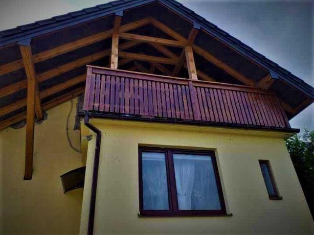 BALUSTRADY drewniane Produkcja-Montaż