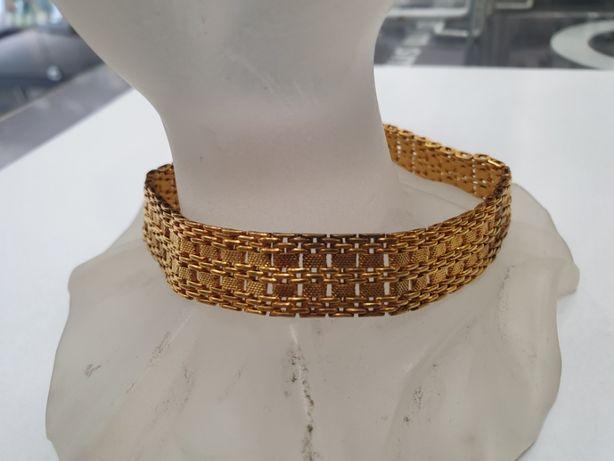 Wiekowa złota bransoletka damska/ 585/ 26.5 gram/ 21cm/ Wiekowa cecha