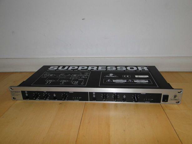 Zawodowy Procesor Korektor BEHRINGER SUPPRESSOR DE-2000.Okazja