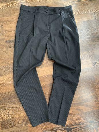 Sisley spodnie w prążki roz. 38