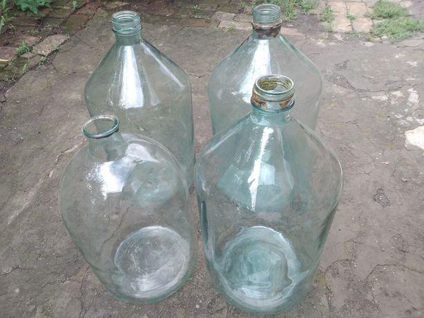 Бутыли стеклянные 20 литров,советского производства.