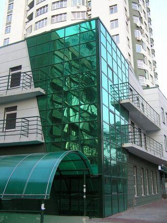 Тонировка стеклопаектов, зданий, балконов, офисов