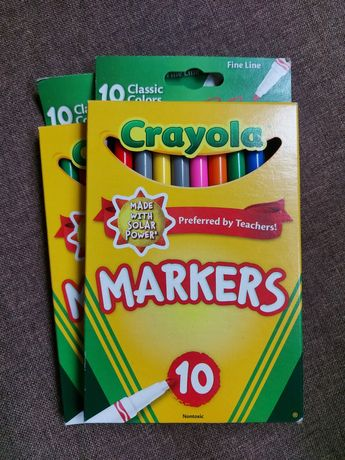 Маркеры Crayola 10 шт