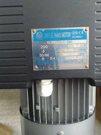 Motor monofásico 4cv 3kw, novo