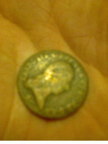 stara moneta oryginalna starodawny unikat z wykopu starocie