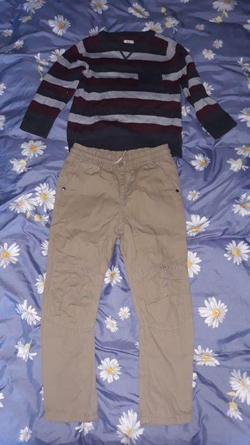 Spodnie i sweterek F&F 5/6 lat
