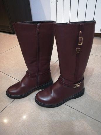 Buty kozaczki dla dziewczynki