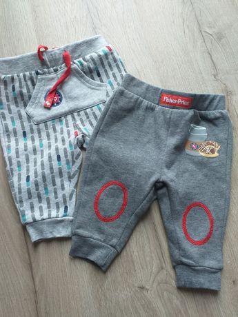 Spodnie i bluzy niemowlęce