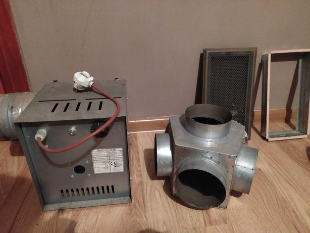 Zestaw kominkowy aparat nawiewny DARCO AN1 400m3/h 54W