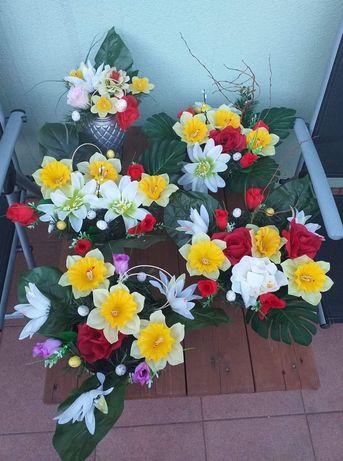 Stroiki na cmentarz na grób- Wielkanoc