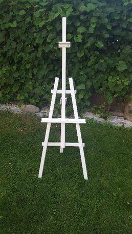 Biała sztaluga trójnożna malarska - 175 cm