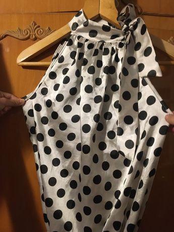 Стиляжное платье, платье в черный горох, платье в стиле стиляги