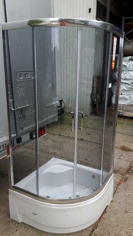Kabina prysznicowa 90x90 z brodzikiem Sanplast