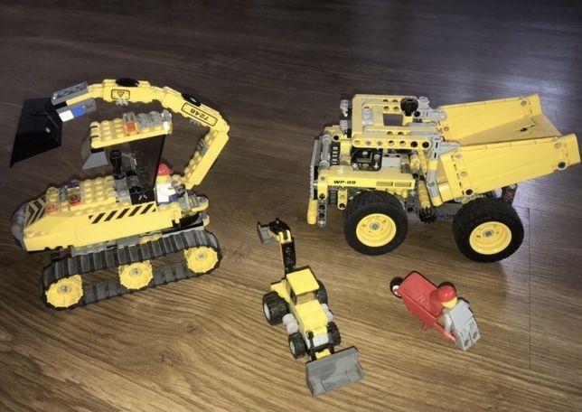 Lego City maszyby budowlane