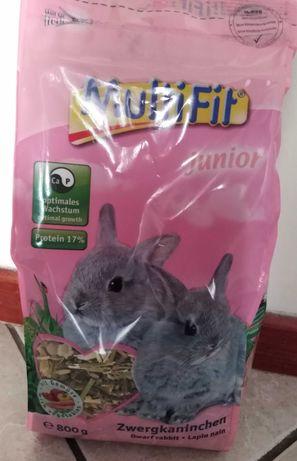 Nowa karma dla młodych królików