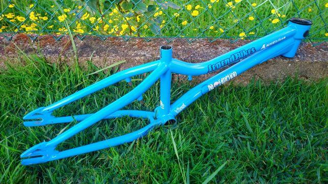Quadro BMX Flatland KHE DaFunction e peças