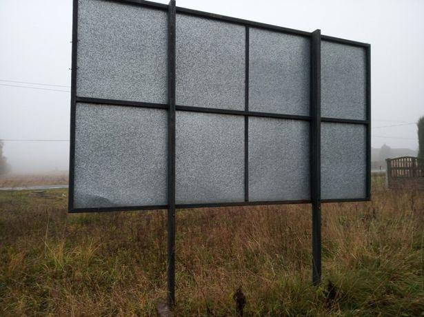 Reklama stojąca 2m x 3,5m Stelaż , reklama zewnętrzna, billboard.