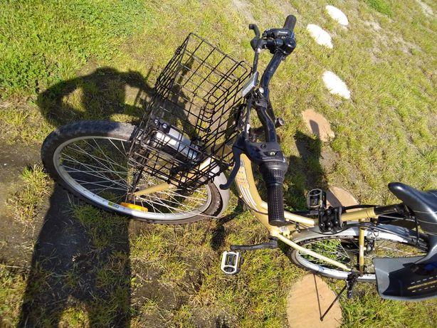 rower plus fotelik rowerowy