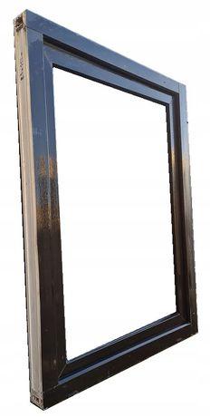 Okna KacprzaK Okno Pcv 83X117 Używane CIEMNY BRĄZ