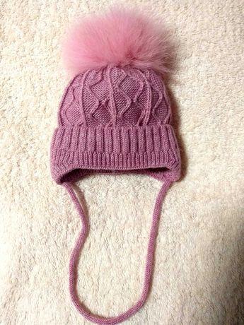 Зимова шапка для немовлят