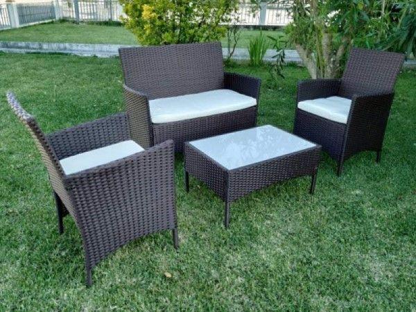 Set de jardim / conjunto de sofás de jardim