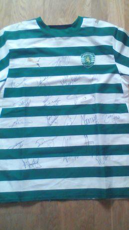 Camisola Sporting plantel 2006