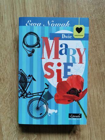 """Książka """"Dwie Marysie"""" Ewa Nowak"""