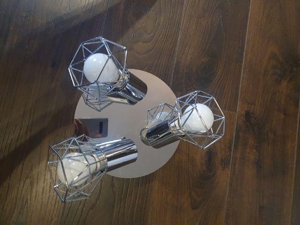 Lampa Sufitowa Plafon AJE-BLANKA 4 srebrny E14 ACTIVEJET