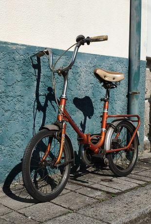 Bicicleta Dobrável Vintage Vilar Linda