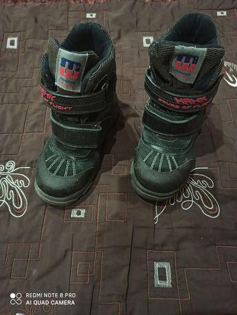 Зимние ботинки минимен для мальчика