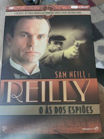 Sam Neill é Reilly - 4 discos