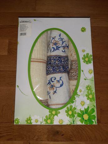Подарочный набор 5 махровых полотенец