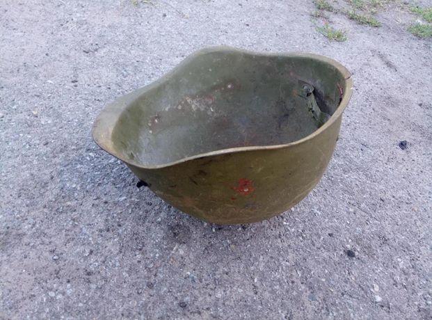 Каска СССР, старинная, стальная