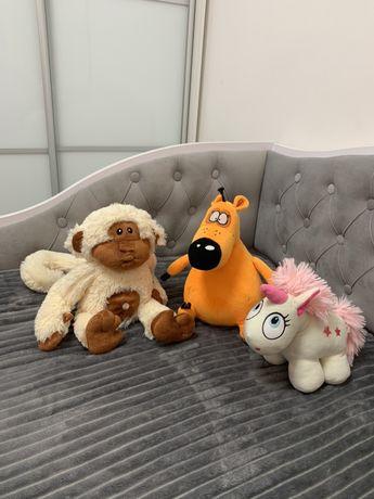 Мягкие игрушки цена за все!