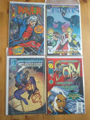Revistas BD comic batman x men spiderman