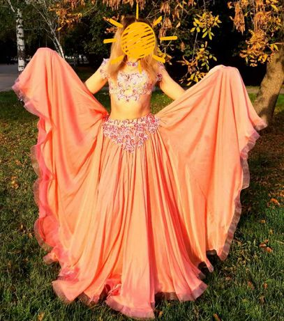 Бальное платье, костюм для восточного танца,  для подростка 11-16лет