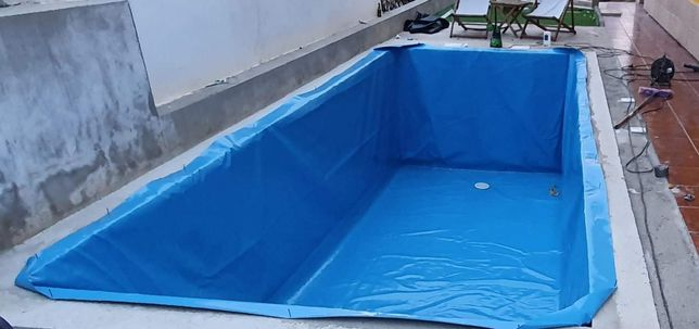Liner / Lona piscinas qualquer medida/ qualquer tipo estrotura