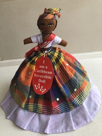 Кукла-перевертыш, Двусторонняя, сувенир-игрушка с острова St.Martin