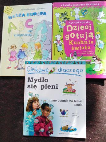Książeczki edukacyjne - komplet