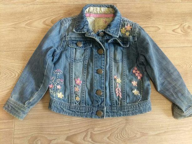 Джинсовая куртка, курточка на девочку 2-4 года