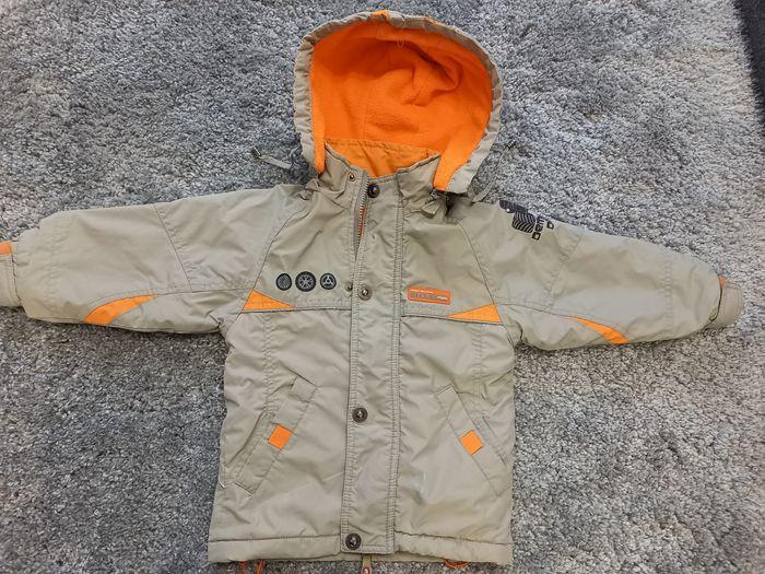Куртка демисезонна бежево_оранжева Винница - изображение 1