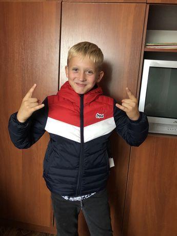 Куртка подростковая демисезонная , Jack&Jones , на рост 146 см