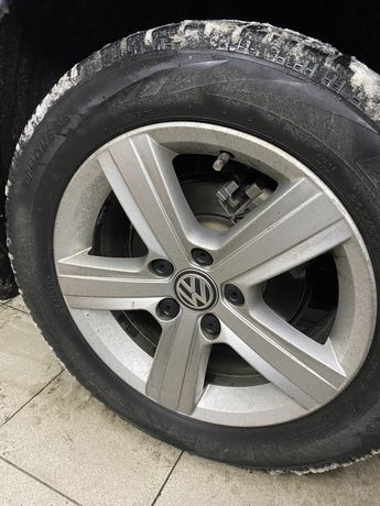 Vw Golf 7 r16 205 55зима комплект колес